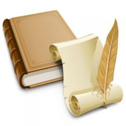old_book_and_paper_with_feather