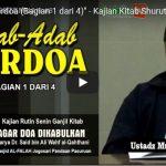 Adab Adab Berdo'a (1 dari 4)