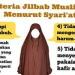Syarat-Syarat Hijab Syar'iy