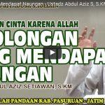 7 Golongan Yang Mendapat Naungan | Ustadz Abdul Aziz S, S.KM