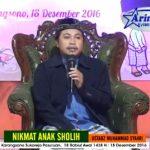 NIKMAT ANAK SHOLIH Kajian Islam Basa Jaw1 | Ustadz Muhammad Syahri
